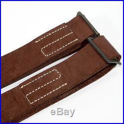 Mosin Nagant 91/30 rifle carrying sling Genuine leather