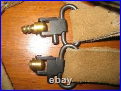 Muzzleloader Leather Sling, Sling Studs, Sling Swivels from a Thompson Center