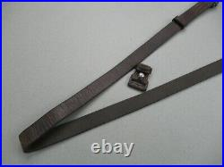 Nice COG proofed WWII German Mauser rifle leather sling for K98 G43 & G41 98k