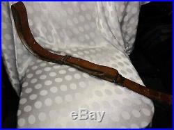 Nice WW2 US M1907 Rifle Leather Sling SPRINGFIELD M1 Garand