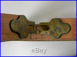 Original Belgian Army Leather Sling For The F. N Mod. 49 Rifle