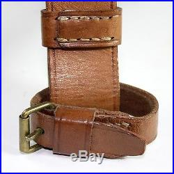 Original Genuine leather Mosin-Nagant rifle carrying sling Marked