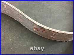 Original MRT Garand. 30-06 Springfield leather & brass rifle sling 48