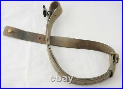 Original Swedish Mauser M96 M38 Leather Rifle Sling NICE