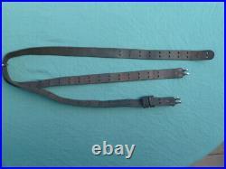 Original US M1 GARAND 03 SPRINGFIELD M1907 LEATHER RIFLE SLING Model 1907 03A3