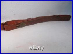Original U. S. Issue U. S. M-1907 Leather Sling For M-1903, M-1917 & M-1 Rifles