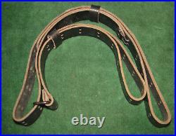 Original Vintage COLT Black Leather Rifle Sling excellent