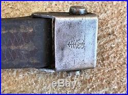 Original WW2 German Leather Sling 98k 33/40 Mauser G43 Rifle. Orig