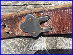 Original WWII USGI BOYT 42, Model M1907 Garand & 1903 Rifle Leather Sling