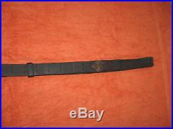 Original WWII USGI Model M1907 M1 Garand & 1903 Leather Rifle Sling BOYT