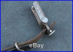 Original WWI German Gewehr Rifle Model 1888 Leather Sling