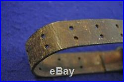Original Wwi & Wwii Us Gi Issue M1907 Leather Rifle Sling For 1903 & M1 Rifle