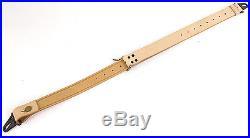 Original military surplus Swedish leather rifle sling (10pcs.)
