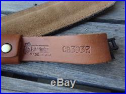 Leather Sling With Thumb Loop 43