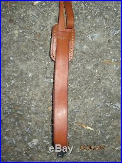 Leather Sling With Thumb Loop 48