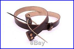 (Pack of 5)BRITISH 1871 MARTINI-HENRY RIFLE LEATHER SLING NEW