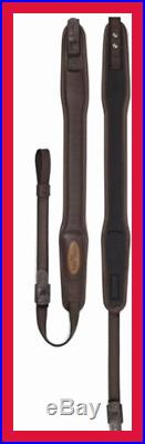 Premium Leather II QR Rifle Sling BROWN Sporting Goods