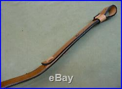 Quality Leather Rifle Sling / Carry Strap by Kirkpatrick Leather, Laredo, Texas