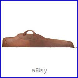 Rifle Cases Gun Slip Bag Scope Cover Soft Padded Genuine Leather Vintage