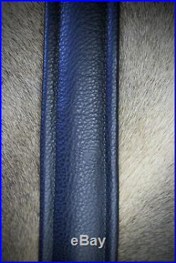 Rifle Sling, Seelye Leather Works, Camouflage Rifle Sling, Skull Badge, Made USA
