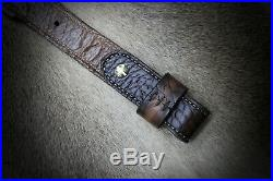 Rifle Sling, Seelye Leather Works, Hand tooled in the USA, Ranger sling