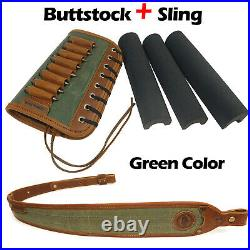 Rifle Sling with Match Gun Buttstock Ammo Holder Suit For 30-06,308,45-70 US