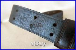 Rock Island Arsenal M1 Garand Sling. WW2 Leather Strap Original WWII Rifle Part