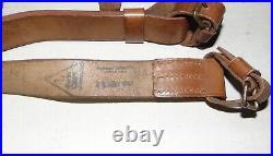 SET Mosin-Nagant German reparations leather rifle sling+pouch ammo 2 pcs