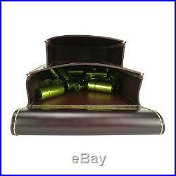 Shotgun Cartridges Holder Waist Bag Ammo Pack Shell Pouch Leather Range Shooting
