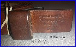 Swiss K31/K11 Switzerland Schmidt-Rubin K31 and K11 Carbine Leather Rifle Sling