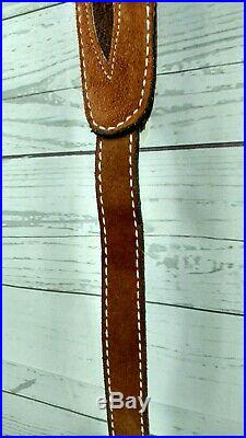 Torel #8910 Leather Hunting Rifle HP Gun Sling QD Quick Detach Swivel Mounts