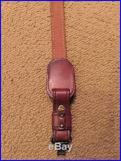 Torel Elephant Weatherby leather rifle sling