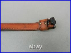 Torel padded Leather Rifle sling With Swivels brown Big Buck Used