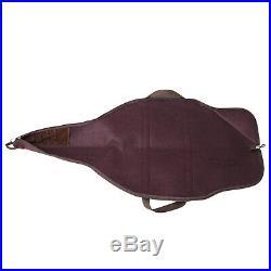 Tourbon Rifle Bag Padded Storage Gun Slip Case Weapon Sling Pack Leather & Felt