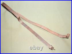 US Army Indian Wars TRAPDOOR SPRINGFIELD SINGLE CLAW LEATHER RIFLE SLING RARE