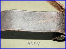 US Army Indian Wars TRAPDOOR SPRINGFIELD WATERVLIET ARSENAL LEATHER RIFLE SLING