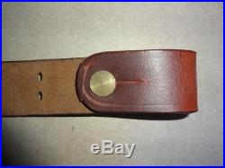 US M1887 KRAG Springfield Trapdoor Rifle Leather Sling Reproduction ch29248
