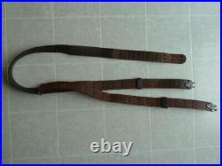 US M1 GARAND 03 SPRINGFIELD M1907 LEATHER RIFLE SLING MILSCO 19 Model 1907
