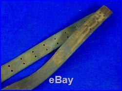 US WW1 Model 1907 Chicago Belting Co. Model 1903 Rifle Leather Sling
