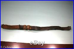 US WW1 WW2 USGI M1903 M1 Garand M1907 Leather Rifle Sling Good Cond. R. O. 1917 2