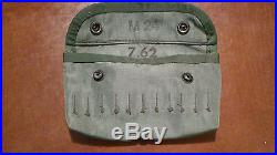 U. S. M. C. M24 Sniper Rifle Leather Sling & Ammo Pouch