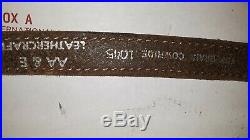 Vintage AA & E Embossed Padded Sling Whitetail Top Grain Cowhide 1045 withSwivels
