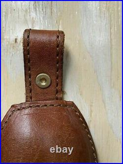 Vintage AA&E LeatherCraft Bear Scene Rifle/Shotgun Sling Gun Strap Padded