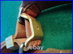 Vintage Al Freeland Match Target Rifle Shooting Cuff, Sling & Adjustable Keeper