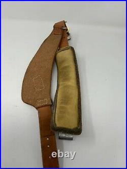 Vintage Al Freeland Match Target Rifle Shooting Cuff Sling Keeper