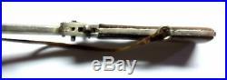 Vintage Austrian Miniature Berloque Pinfire Cap Rifle Leather Sling