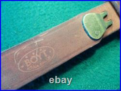 Vintage Boyt 1-1/4 M1907 Military Style Leather Rifle Sling