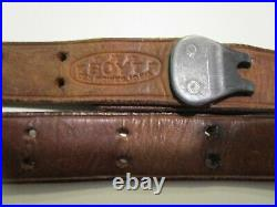 Vintage Boyt 1 Military Leather Rifle Sling 44 Long