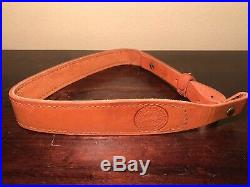 Vintage Boyt Leather Rifle Sling SECOND AMENDMENT SECOND CENTURY NRA ILA 29
