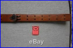 Vintage Leather Sling Springfield 1903 Brass Fittings Original Dated 1918 HBC Co